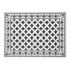 """Set de Table papier 30x40cm """"Alhambra"""" Noir 50g/m² (1000 Utés)"""