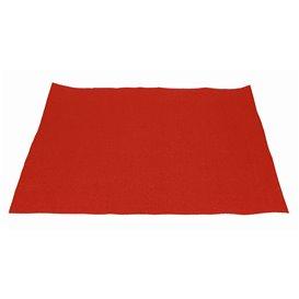 Set de Table en Papier Rouge 30x40cm 40g/m² (1.000 Utés)