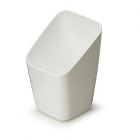 Verre Dégustation Plastique Blanc 4x4x7cm ( 20 Unités)