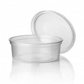 Pot en Plastique Transparent 350ml Ø11,5cm (50 Utés)