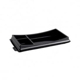 Plastic sushi Container PET zwart 17,2x10,1cm (960 stuks)
