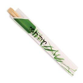 Palillo Chino de Bambú enfundado 200 mm (100 Uds)