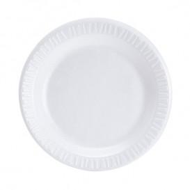 Assiette plate en Foam 225mm (100 Utés)