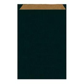 Papieren envelop kraft zwart 26+9x38cm (125 stuks)