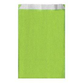 Papieren envelop groen Anise 12+5x18cm (125 stuks)
