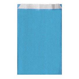 Papieren envelop turkoois 19+8x35cm (125 stuks)