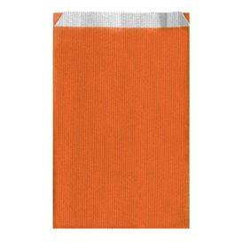 Papieren envelop oranje 19+8x35cm (750 stuks)