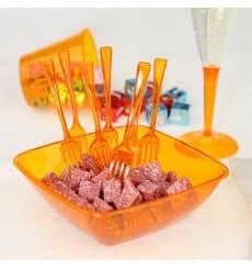 Verre Plastique Injecté Orange 230 ml (150 Unités)