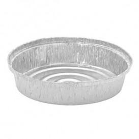 Folie pan voor gebraden kip Rond vormig 935ml (125 stuks)
