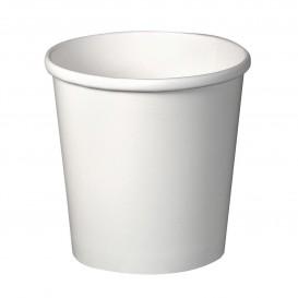 Papieren Container wit 16Oz/473ml Ø9,8cm (500 stuks)