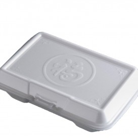 Boîte en FOAM MenuBOX 240x133x75mm (200 Utés)