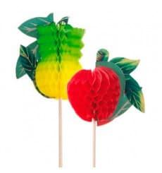Piques de Décoration Fruit 20cm (5.000 Utés.)