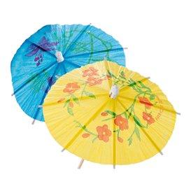 IJs decoreren set Parasol Design 15cm (100 stuks)