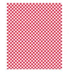 Papier Ingraissable Rouge 28x33cm (4000 Utés)
