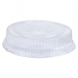 Plastic koepel Deksel PS Kristal 15x4cm (125 stuks)