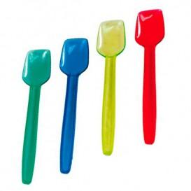 Plastic ijs lepel  9,2 cm (1000 eenheden)