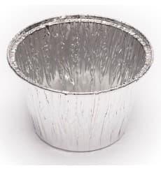 Récipient Aluminium FLAN 103ml  (150 Unités)