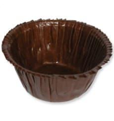 Cápsulas para Cupcakes Marrón  4,9x3,8x7,5cm. (70 Unidades)