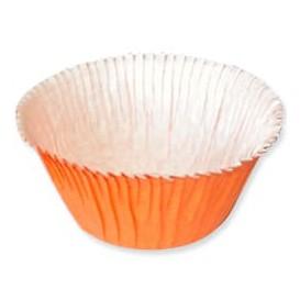 Cupcake vorm voering oranje 4,9x3,8x7,5cm (500 stuks)
