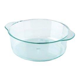 Plastic Pot PS met handgrepen Water groen 52ml (50 stuks)