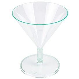 Plastic glas Water groen 65ml (144 stuks)