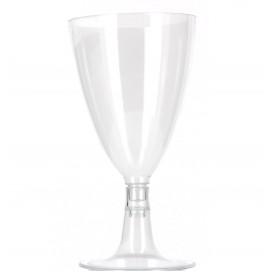 Plastic glas Water of Wijn verwijderbare stam 140ml (50 stuks)