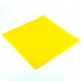 Serviette Papier Molletonnée 40x40 Jaune (1.200 Unités)