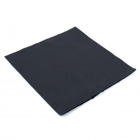Serviette en papier UNIE 40X40 Noire (50 Unités)