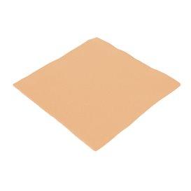 Serviette Papier Molletonnée 40X40 Saumon (1.200 Unités)