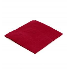Papieren servet bordeauxrood 20x20cm 2C (6.000 stuks)