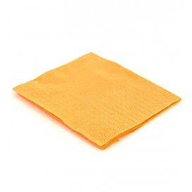 Papieren servet geel 20x20cm (100 stuks)