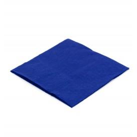 Papieren servet blauw 20x20cm (6.000 stuks)